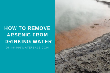 how to remove arsenic from drinking water at home