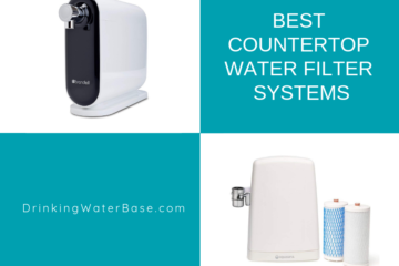list of the best countertop water filters