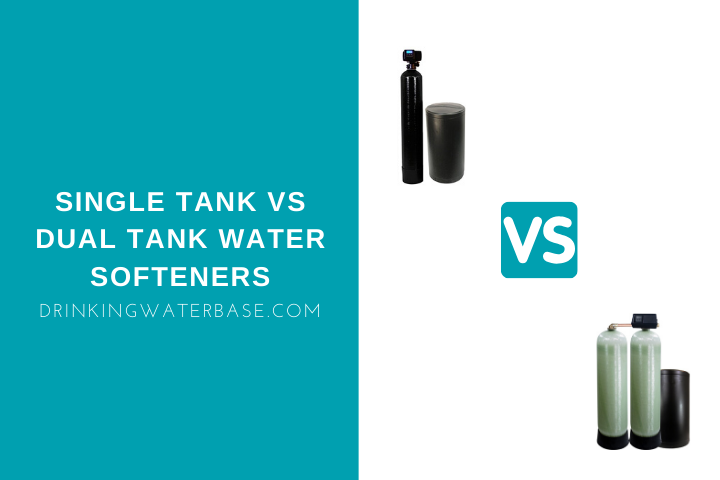 single tank vs dual tank water softeners
